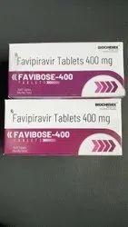 Favipiravir 400 Mg Tablet