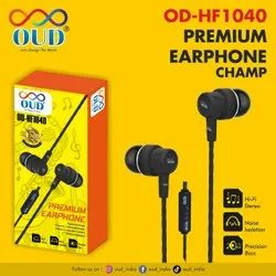 OUD OD-HF1040 Champ Premium Earphone With Mic