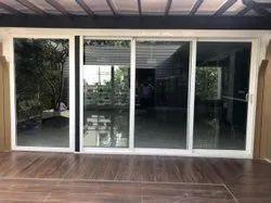 Partition Doors Pristine White Sliding Door, For Home, Exterior