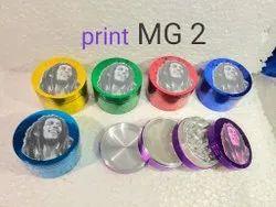 63 Mm Bob Marley Print Smoking Grinder