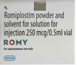 Romiplostim Powder And Solvent For Solution For Injection