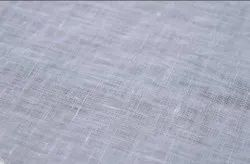 White 100% Linen 60 Lee Fabric, GSM: 150-200