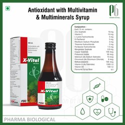 X- Vital syrup