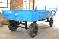 Tractor trailer, Tyre Size: 7.50.16, Dimension: 10'x5'