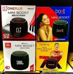 Oneplus/Jbl/Boat/Realme Mini Boost Wireless Speaker