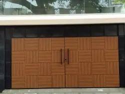 HPL Sheet Cladding Work For Entrance Gate