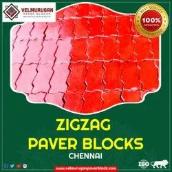 Polished paver block