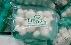 Maharashtra Button Mushroom, Packaging Type: Packet, Packaging Size: 200 Grm