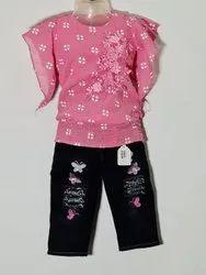 Girls Jeans Capri