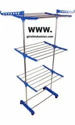 Stainless Steel Foldable Cloth Drying Stand