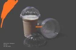 Transparent Plain Disposable juice glass, Capacity Gram: 4.5 Gsml, Size: 350 Ml