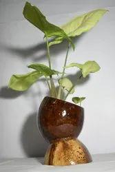 Handmade Decorative Wooden Flower Pots