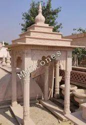 Stone chhatri