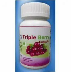 Triple berry capsules