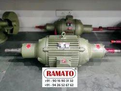 Rajlaxmi Heavy Duty Bench Polisher Buff Machine (Steel Plate Polisher)