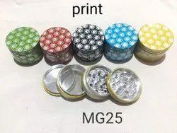 50 mm print tabacco grinders
