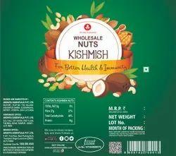 Archita Essentials Golden Raisins (Kishmish), Packaging Size: Carto