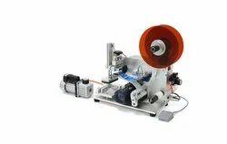 Semi-automatic Flat Surface Labelling Machine