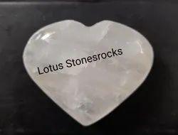 Crystal Quartz Hearts