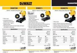 DEWALT D28730 355mm, Industrial Chop Saw