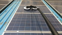 Solar panel Cleaning Semi Automatic Brush
