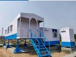 Steel Readymade Toilet Cabin