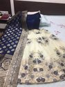 Banarsi Brocade Silk Fabric Lehngas