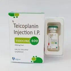 Teicoplanin 400 Mg Injection
