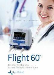 Flight 60 icu ventilator
