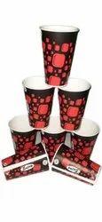 Paper Printed Sai Juice Glass Cup