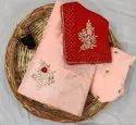 Pure Upada Silk Half Half Lehanga