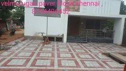 Rubber mould square paver