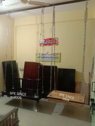 Teakwood Swing with Stainless Steel Chain Set