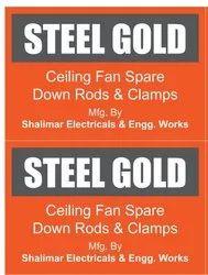 Brass Ceiling Fan Down Rod