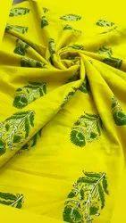 Ajrakh Print Cotton Running Fabric