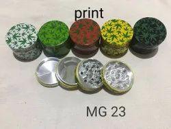 63 mm leaf herb grinders