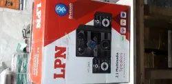 1 Subwoofer2 Sude Speakers Black Audio Music System