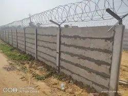 Precast Boundary Wall Work