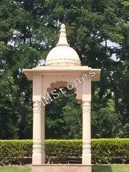 Stone Chatri 4ft Gol Gumat