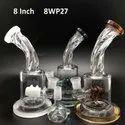 8 inch rim water smoking pipe
