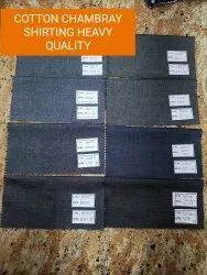 Cotton Shirting Chambray Heavy Fabric quality