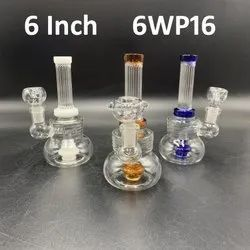 6 inch water smoking pipes