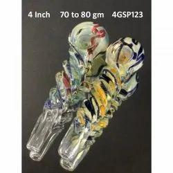 4 Inch Glass Smoking Pipe