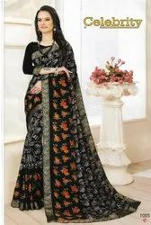 Casual Wear Georgette Sequence Work Saree