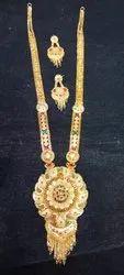 Rup Shrangar Copper Brass Ladies Rani Haar