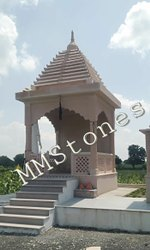 Stone Chatri Mandir 8'