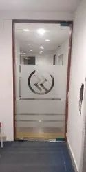 Saint Gobain Hinged Glass Doors, For Office