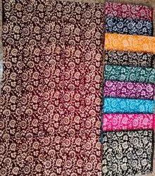 Nighty Printed Cotton Fabric And Cotton Batik Fabric