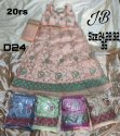 Premium Net, Satin Multicolor Kids Wear Lehenga Choli, Size: 24-28-32-36