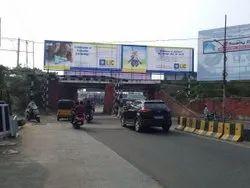 Marketing X Under Bridge Hording Advertising Service, in Client Side